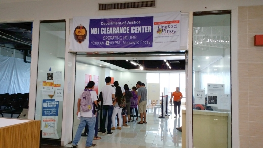 The NBI Clearance Outlet where I got my clearance, with only a few people in line.